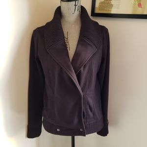 Roots stunning size small thick sweater jacket